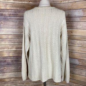 J Crew Mens Fisherman's Sweater, Size Medium